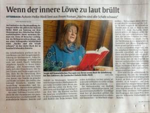 Lesung Abidi Rheinpfalz 2.12.13