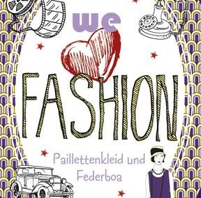 We love Fashion – Paillettenkleid und Federboa