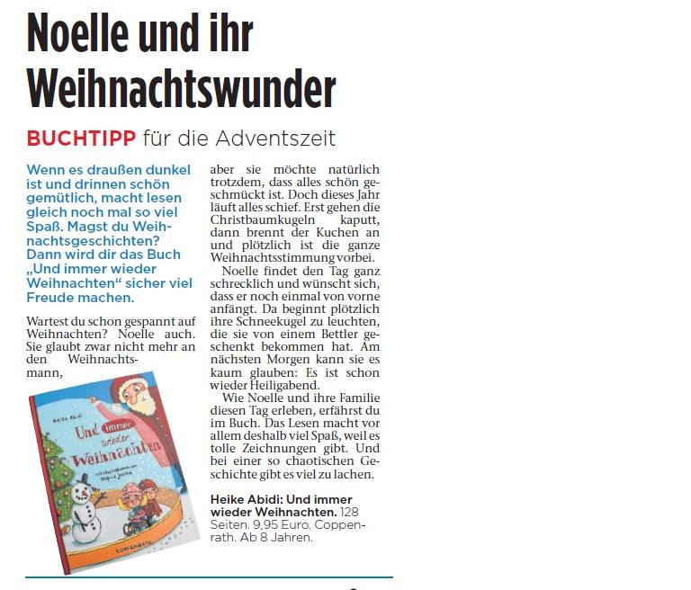 Rezension Fuldaer Zeitung 10.12.14