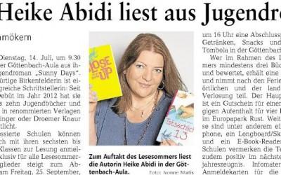 Lesesommer 2015 Rheinland-Pfalz