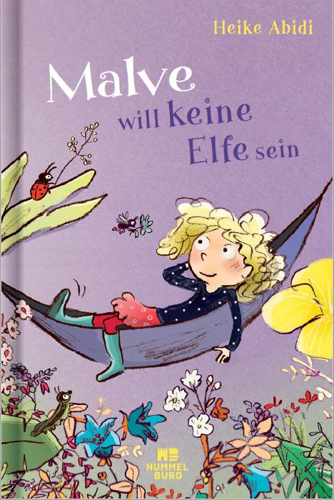 Cover Malve will keine Elfe sein Hummelburg Verlag