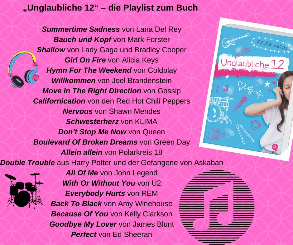 """""""Unglaubliche 12"""" - die Playlist"""