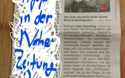 Buchtipp in der Nahe-Zeitung :)